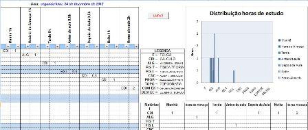 Cronograma De Estudo Planilha Excel