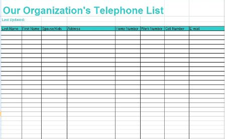 Lista Telefônica (Inglês)